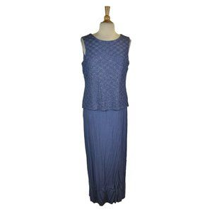 Alex Evenings Maxi 14 Purple